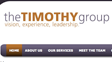 timothy group web site